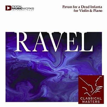 Pavan for a Dead Infanta for Violin & Piano
