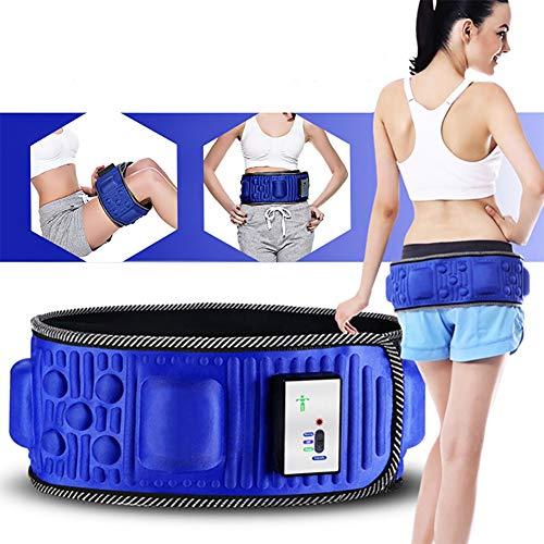 BCQ Elektrischer Schlankheitsgürtel, Fettverbrennungsgürtel, Bauchfettverbrenner, Verbessern Sie die Durchblutung für Frauen und Männer, für zu Hause