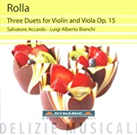 Rolla: Three Duets for Violin & Viola, Op.15 (2011-05-24)