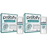 Probióticos Probify Daily Balance, Sistema inmunitario, con Lactobacillus plantarum y calcio, 30 cápsulas + Probióticos Probify Daily Balance, Sistema inmunitario, Lactobacillus plantarum, 15 cápsulas