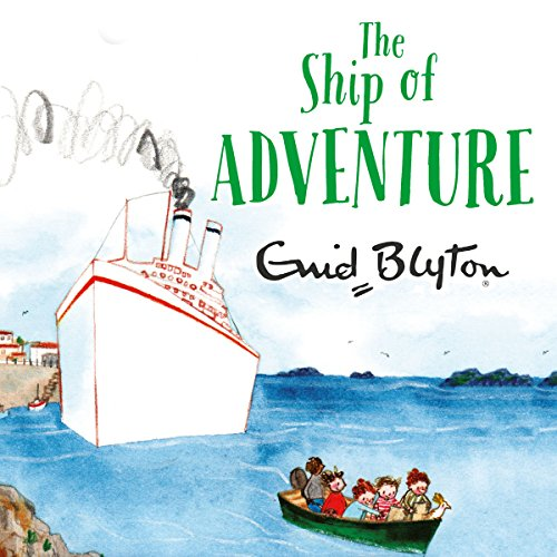 The Ship of Adventure audiobook cover art