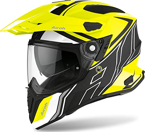 Airoh CASCO COMMANDER DUO YELLOW MATT S