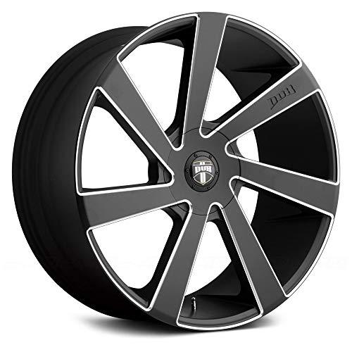 Dub directa 22x9.5 5x115/5x120.65 15et 72.56mm matte black milled wheel