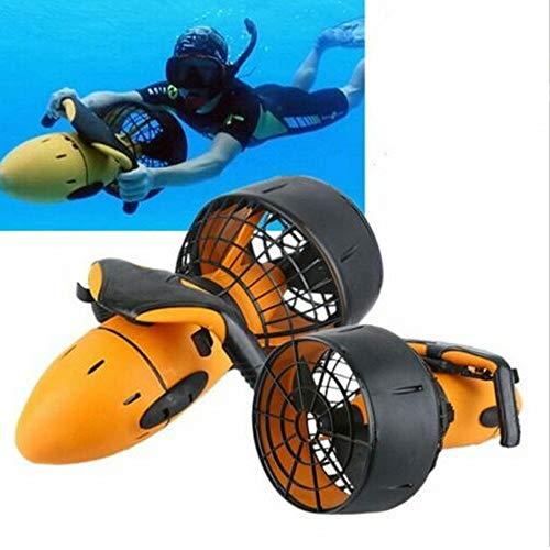 Bajo el agua Buceo Sea Scooter, impermeable 300W eléctrico mar Scooter, doble velocidad subacuática hélice buceo piscina scooter deportes acuáticos