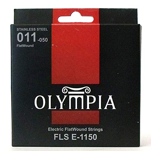 Olympia Flatwound electric guitar strings 11-50 gauge