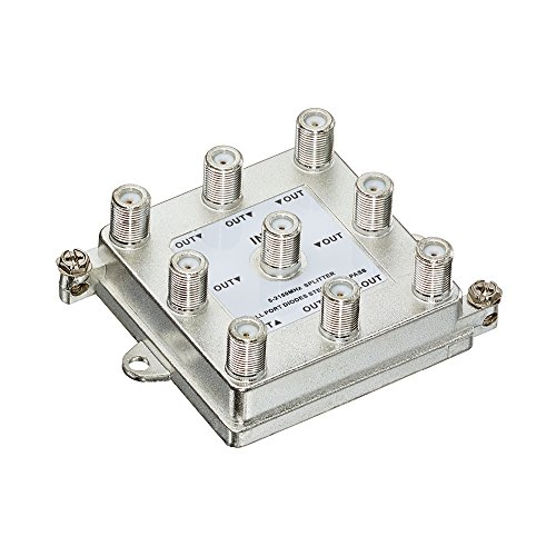 Leviton 47690-G8 1 X 8 (8-Way) 2Ghz Passive Video Splitter