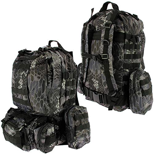 50L Modular Molle Tactical 3 Day Assault Military Army Rucksack...
