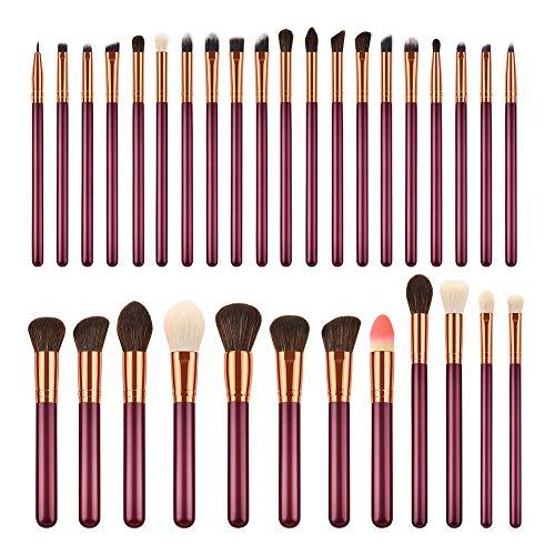 Da.Wa Makeup Brush Augenbürste Lidschatten Pinselsatz Puderpinsel Makeup Werkzeuge 32 Stück