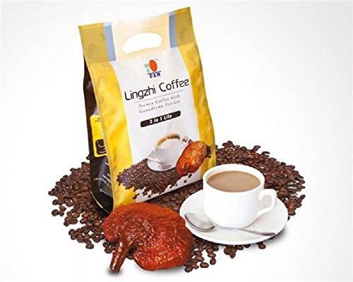 5 Packs DXN Lingzhi 3 in 1 Lite Ganoderma Coffee 20 Sachets