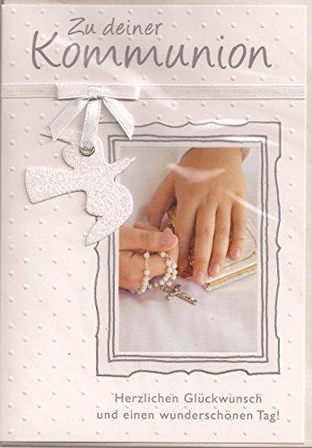 Glückwunschkarte Kommunion - Zu Deiner Kommunion - Motiv 008