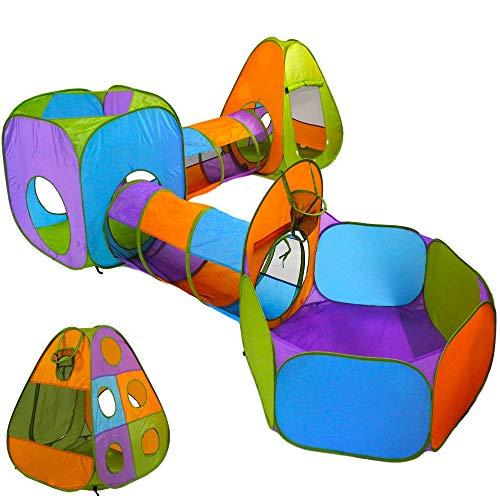 Playz 5-Piece Kids Pop up Play Tent