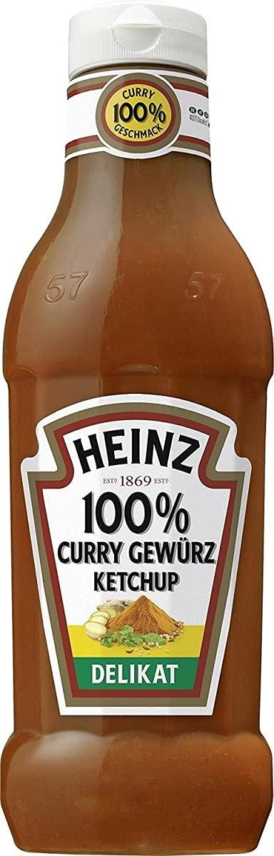 Heinz Curry Brand Cheap Sale Nashville-Davidson Mall Venue Ketchup- Delikat- 590ml