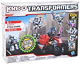 Transformers Hasbro 369544920 Kre-O Cycle Chase - Juego de construcción