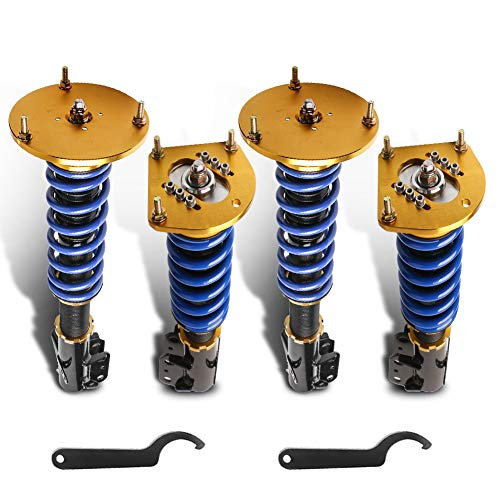 MOSTPLUS Coilovers Struts Compatible with 2003-2005 Dodge Neon SRT-4 2.4L/Chrysler Neon 2000-2002/Dodge SX 2.0 2003-2005 Struts Shocks Suspension Kit Assembly (Set of 4)