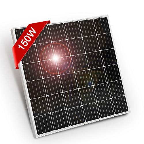 DOKIO Panneau solaire 150W 12V Mono