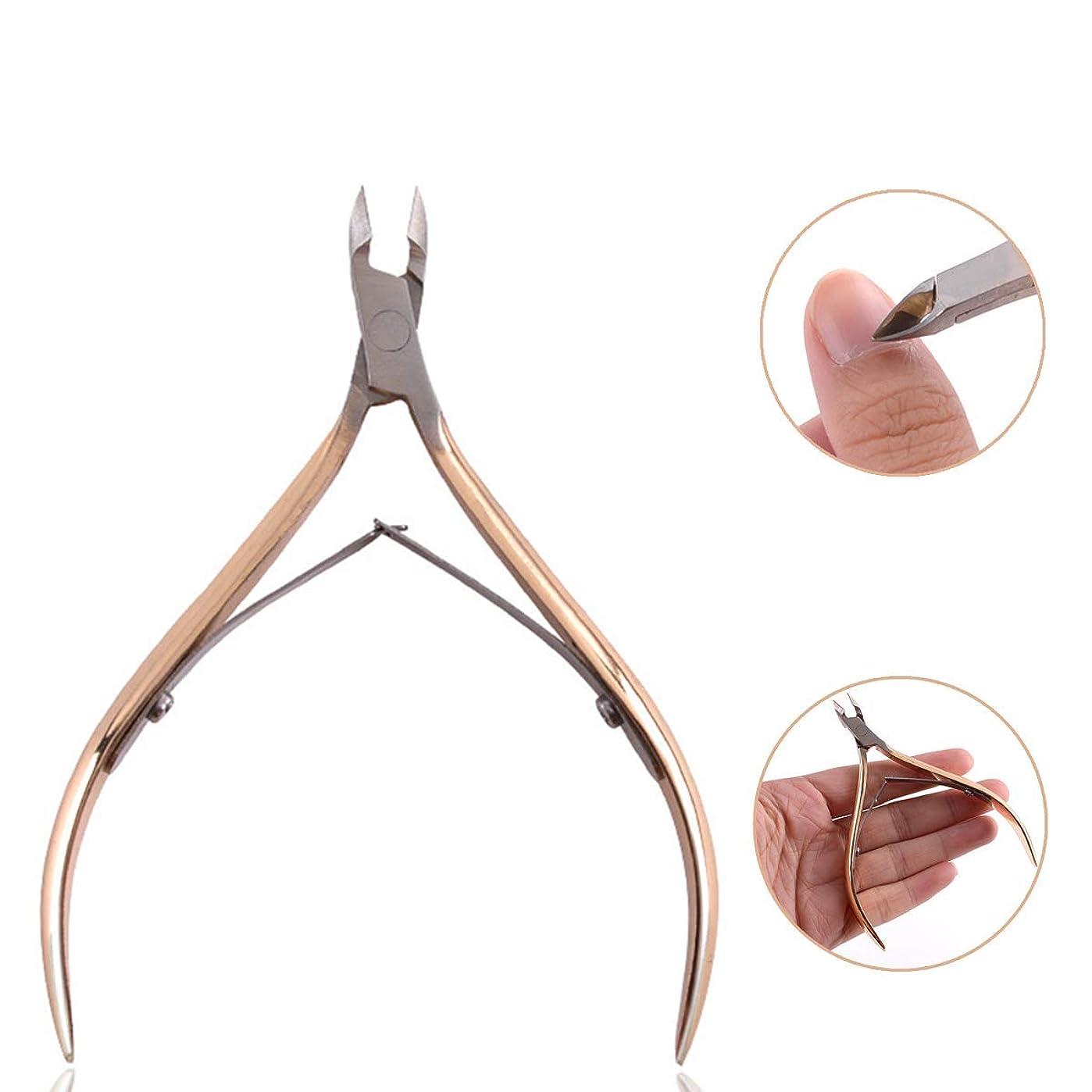 ニッパー爪切り 爪切り 甘皮切り ステンレス製 切れ味抜群 厚い爪 変形爪 陥入爪 巻き爪に 水虫爪最適 高齢者 医療 介護 高品質 ギフト