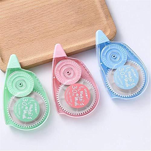 BLOUR Koreanische kleine frische Farbkorrekturband Kawaii Student Briefpapier Geschenk Design Aufkleber Stift Korrekturband Bürobedarf