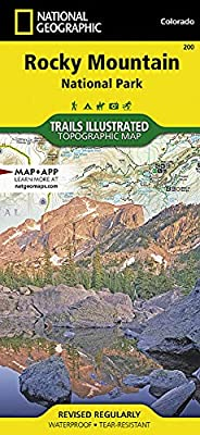 Rocky Mountain National Park (National Geographic Trails Illustrated Map) by National Geographic Maps