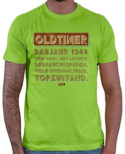 Hariz – Camiseta para hombre, diseño de Oldtimer, año de construcción 1949, no se oxida, 70 cumpleaños, abuela, incluye tarjeta de regalo