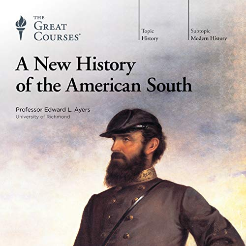 A New History of the American South audiobook cover art