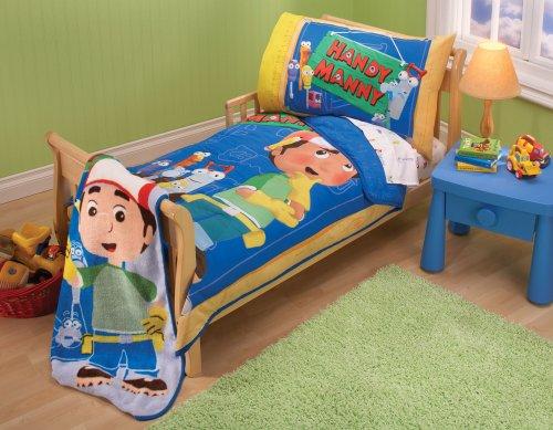 Disney Handy Manny – Lot de 4 Parure de lit pour enfant