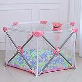 JHSHENGSHI Tente de Jeu de Balle pour Enfants, Parc bébé, Pop Up Tente de Jeu avec Filet Respirant, pour Enfants...