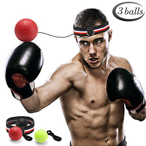 GEYUEYA Home Boxen Training Ball, Reflex...