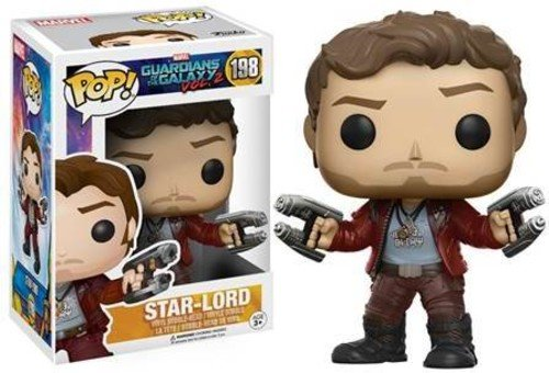 Funko - Star Lord figura de vinilo, coleccion de POP, seria Guardians of the Galaxy 2 (12784), 1 unidad, modelo surtido