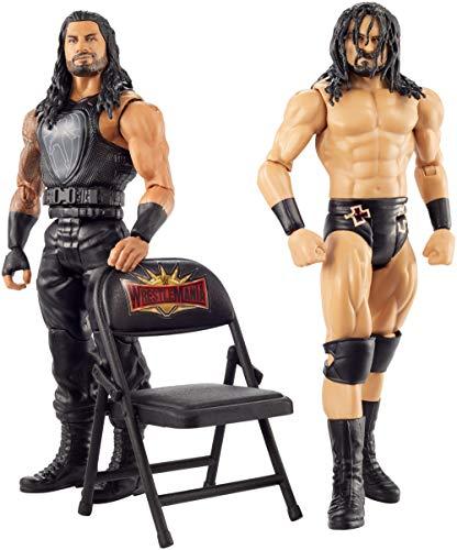 WWE MATTEL GKY64 WWE Drew McIntyre vs Roman Reigns Wrestlemania 2-Pack
