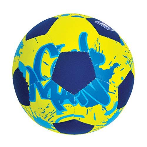 Azul//Naranja Superficie Textil Antideslizante Resistente al Agua Salada Tama/ño 2 /Ø 15 cm 970274 Ideal para Ni/ños Peque/ños Schildkr/öt Funsports Mini Pelota de Voleibol de Playa