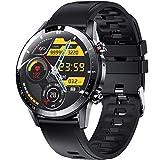 ieverda Smartwatch, Orologio Fitness Uomo Cardiofrequnzimetro da Polso Contapassi e Impermeabile IP68 Cronometro Smart Watch, Activity Tracker per Android iOS
