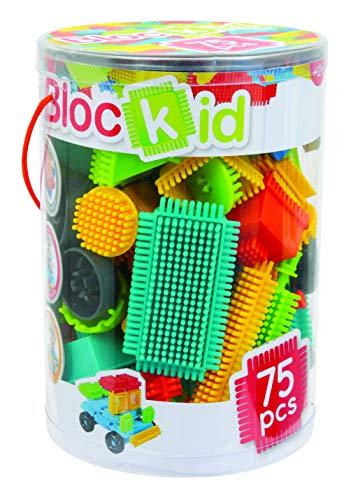 BLOC KID - Baril Blocs Construction 75 Pièces