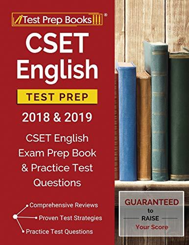 CSET English Test Prep 2018 & 2019: CSET English Exam Prep Book & Practice Test Questions