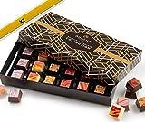 chocolats et truffes belgique - ballotin chocolat assortiment dupont chocolatier. chocolat blanc