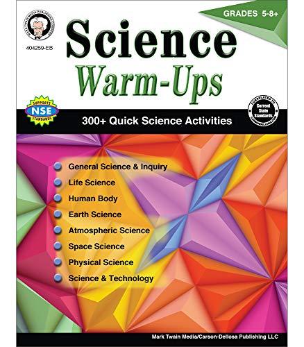 Mark Twain - Science Warm-Ups, Grades 5 - 8