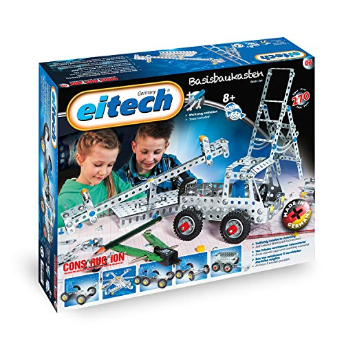 Eitech Construction Basic Set, Multicolor, Caja de construcción 00006
