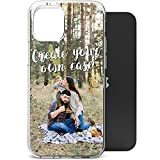 HELLO GIFTIFY Design Your Own, Personalized Photo TPU Phone case for iPhone 12 / iPhone 12 Pro, Create Custom Case with Pictures, Text, Names