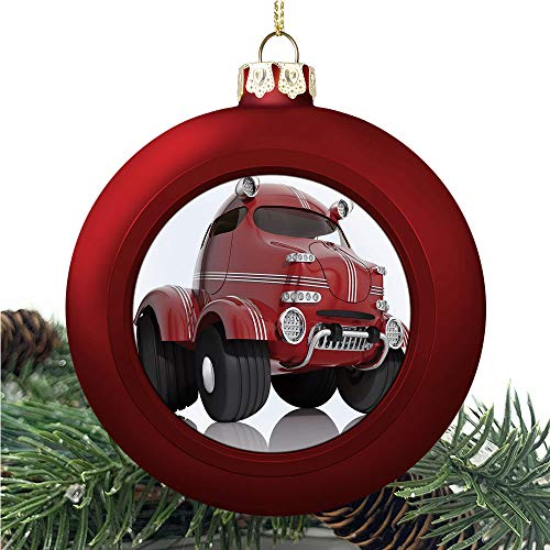 Cars 3D Style | Christmas Ball Ornaments 2020 Christmas Pendant Personalized Creative Christmas Decorative Hanging Ornaments Christmas Tree Ornament №AM006745