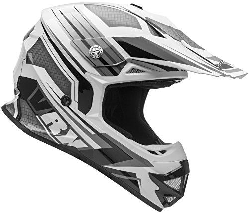 Vega Helmets VRX Advanced Off Road Motocross Dirt Bike Helmet (Black Venom Graphic, XX-Large)