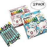 Crayon De Couleur Set 2 Pack 24 Couleurs Collection De Crayons De Couleur Pour Enfants Dessin Matériel Crayons De...