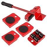 Müheloses Kit für schwere Möbelbewegungen, bewegliche Möbelbewegungsmaschinen, Möbelbewegungskit, Möbelheber, Rollen für Möbel bis zu 300 kg Bewegungs- und Hebesystem