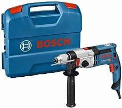 Bosch Professional 060119C801 Schlagbohrmaschine GSB 24-2 (1.100 Watt, max. Drehmoment: 40/14.5 Nm, in L-Case), 1100 W, Mu...