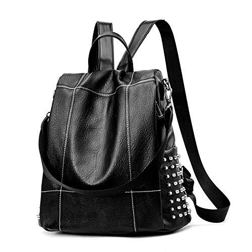 New Vintage Leather Backpack Women Anti Theft Backpack Female Shoulder Bag Travel Back Pack Multifunctional Backpack