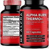 Alpha Burn Thermogenic Fat Burner For Men -...
