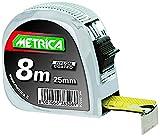 Metrica 38508 Flessometro Professionale, 8 x 25 mm