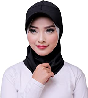 ❤️ ATTIQA - Hijab sport for muslim girls and women I instant scarf cap sport wear suit fitness islamic accessories – Dri-FIT I Black