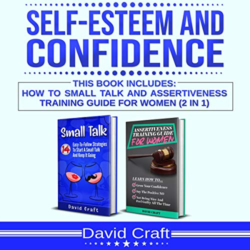 『Self-Esteem and Confidence: 2-in-1 Bundle 』のカバーアート