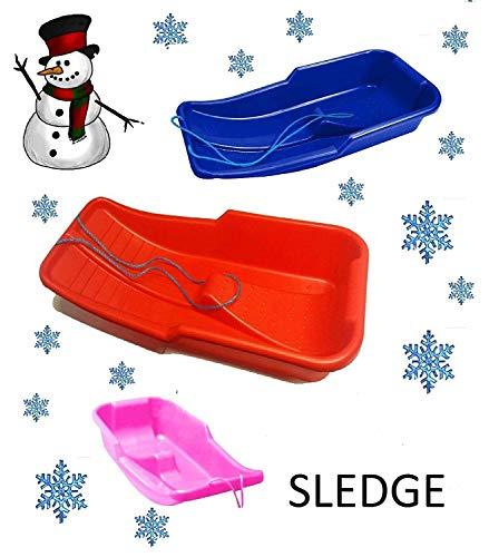 Keto Plastics Snow Sledge/Sled Toboggan (Made In Uk) (BLUE)