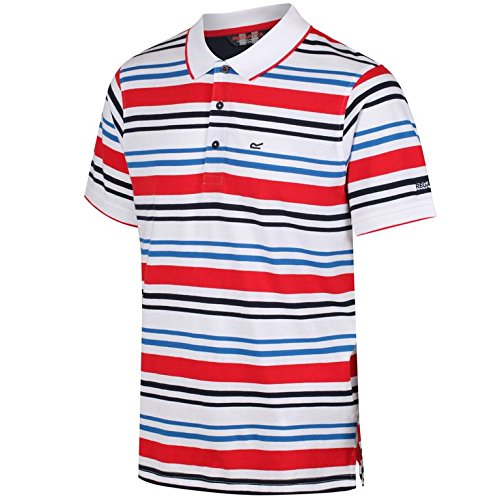 Regatta pour Homme Pieran t-Shirts/Polos/Gilet XXL Blanc