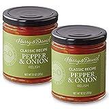 Harry & David Classic Recipe Pepper & Onion Relish Dip Spread 2 Pack